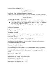 Protokoll von der Sitzung 04.07.2007 ... - Slavisches Institut