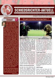 SR-Aktuell 11/2009 - Fußball und Leichtathletik Verband Westfalen eV