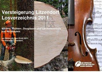 Lagerplatz: Strullendorf - Bayerische Staatsforsten