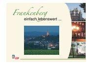 Der Standort Frankenberg – Das beste zwischen Himmel und Eder