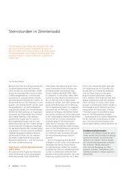 Sternstunden in Zimmerwald (pdf, 80KB) - Universität Bern