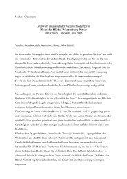Grußwort anlässlich der Verabschiedung von Bischöfin Bärbel ...