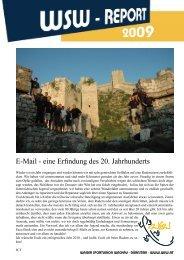Vereinsjahr 2009 - Wasser Sportunion Wachau