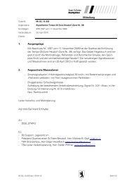 Mitteilung 1. Ausgangslage Mit Beschluss Nr. 1097 vom 17 ...