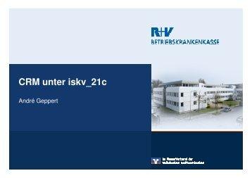 CRM in iskv_21c