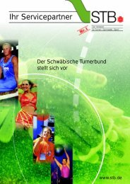 STB-Imagebroschüre