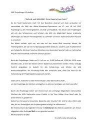 Infobrief - Schulfest - ASG - Albert-Schweitzer-Gymnasium