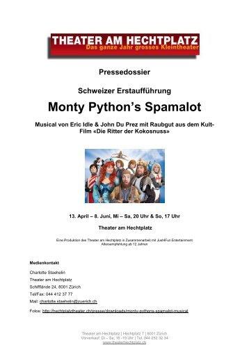 Monty Python's Spamalot - Theater am Hechtplatz