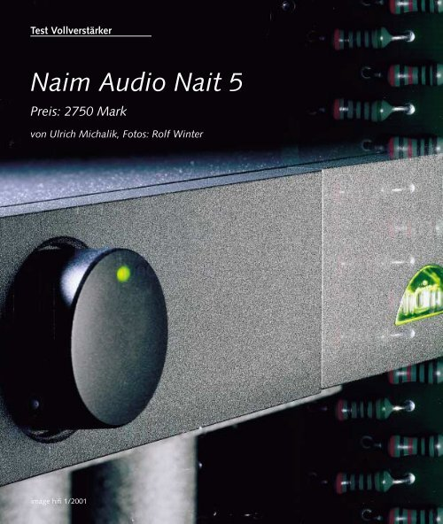 Naim Audio Nait 5 - music line