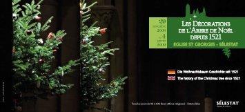les décorations de l'arbre de noël depuis 1521 - Ville de Sélestat