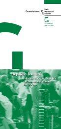 Hepatitis B und C - Gesundheitsamt Bremen