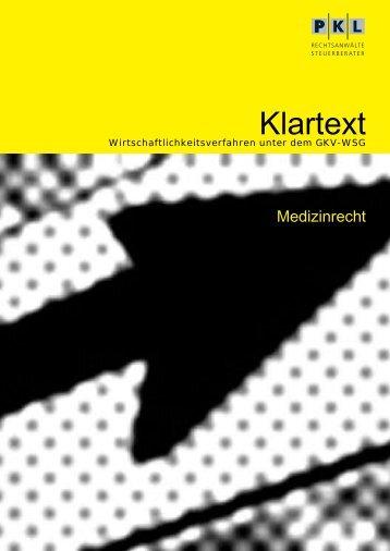 Klartext - Physician Profiling