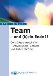 Team – und (k)ein Ende?! - Technologiefabrik Karlsruhe GmbH
