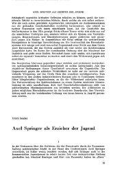 Axel Springer als Erzieher der Jugend - VVN/BdA NRW