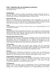 Flash - Medieninformatik - Ludwig-Maximilians-Universität München