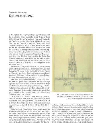 Kreuzbergdenkmal - SPSG Online-Bestandskataloge
