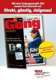 Zielgruppen-Split_2012 - WAZ ZEITSCHRIFTEN MARKETING ...