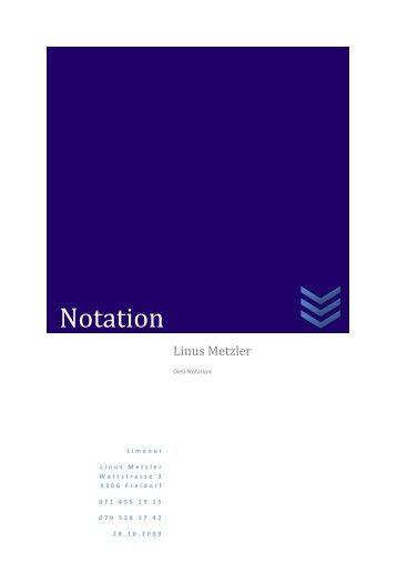 Notation - limenet.ch