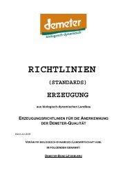 RICHTLINIEn Erzeugung 2000 1. Auflage