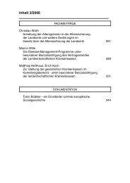 Inhalt 3/2006 - Sozialversicherung für Landwirtschaft, Forsten und ...