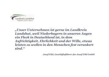 Landkreis Landshut - Wirtschaftsraum mit Zukunft - Sisby