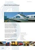 Hightech-Kabel & Systeme für die Schienenverkehrstechnik - Seite 4