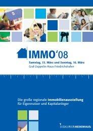 Info-Flyer zur Immo08 - Südkurier