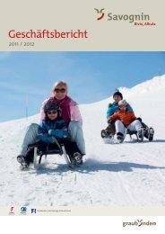 Geschäftsbericht 2011/12 (PDF, 1.18 MB) - Savognin