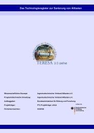 Benutzerhandbuchs (PDF 1,70 MB) - TERESA 3.0 - Das ...