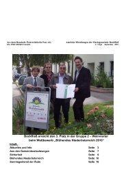 2. Folge, September 2010 - Marktgemeinde Bockfließ