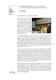 5. Innerstädtischer Verkehr: Chancen und ... - Stadt Oberhausen