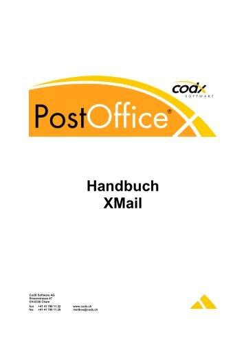 Handbuch XMail - CodX Software GmbH