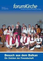 Besuch aus dem Balkan - forumKirche