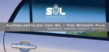 Autoglasfolien von SL – The Window Film - courtaulds.de