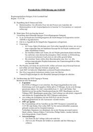 Protokoll SND-Sitzung 14