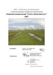 Bericht Vegetation 2007 - WSA Bremerhaven