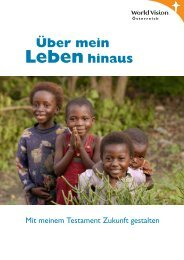Testament-Ratgeber - World Vision Österreich