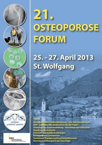 OSTEOPOROSE FORUM