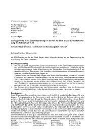 21.09.10 Antrag Gewerbesteuer erhalten - SPD Siegen