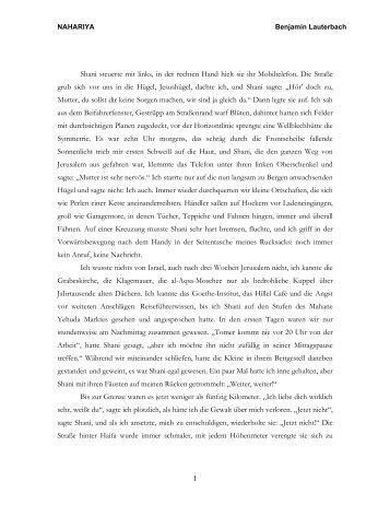 Lesen - Benjamin Lauterbach