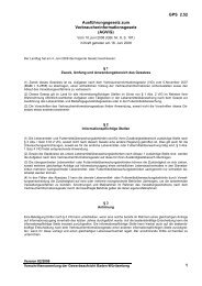 Ausführungsgesetz zum Verbraucherinformationsgesetz (AGVIG)