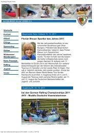 AKV Presse 2011.pdf - Augsburger Kajak Verein eV