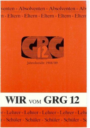 Jahresbericht 1988/89