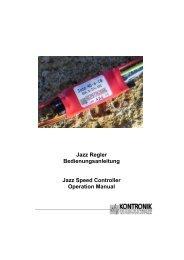 Anleitung Jazz Regler deutsch - RC-Toy