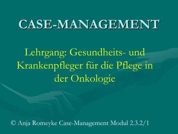 Definition – Case-Management