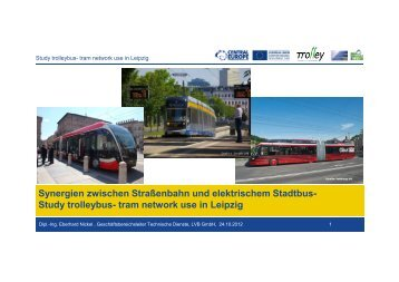 Study trolleybus- tram network use in Leipzig - trolley-project.eu