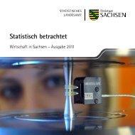 Statistisch betrachtet [*.pdf, 0,25 MB] - Statistik - Freistaat Sachsen