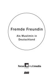 Booklet Fremde Freundin - Focus-multimedia