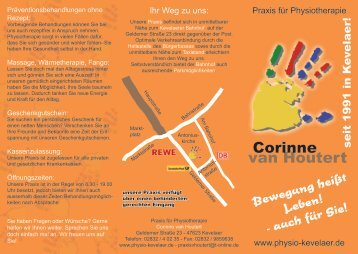 Corinne van Houtert - Physio-kevelaer.de
