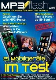 21 Mobilgeräte 21 Mobilgeräte 21 Mobilgeräte - MP3-Flash.de